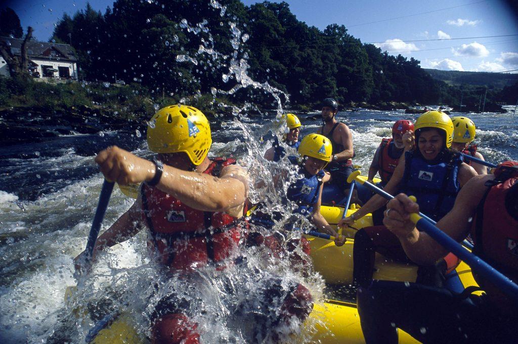 weymouth water rafting