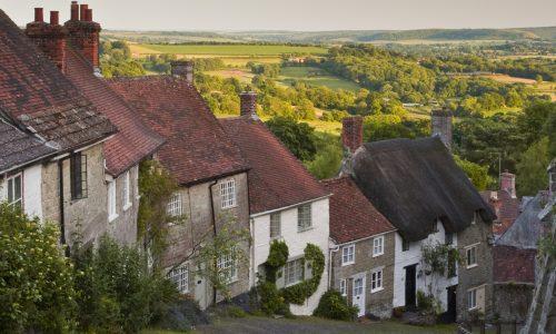 angliai vidéki házak